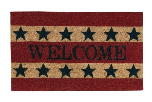 Welcome Americana Doormat