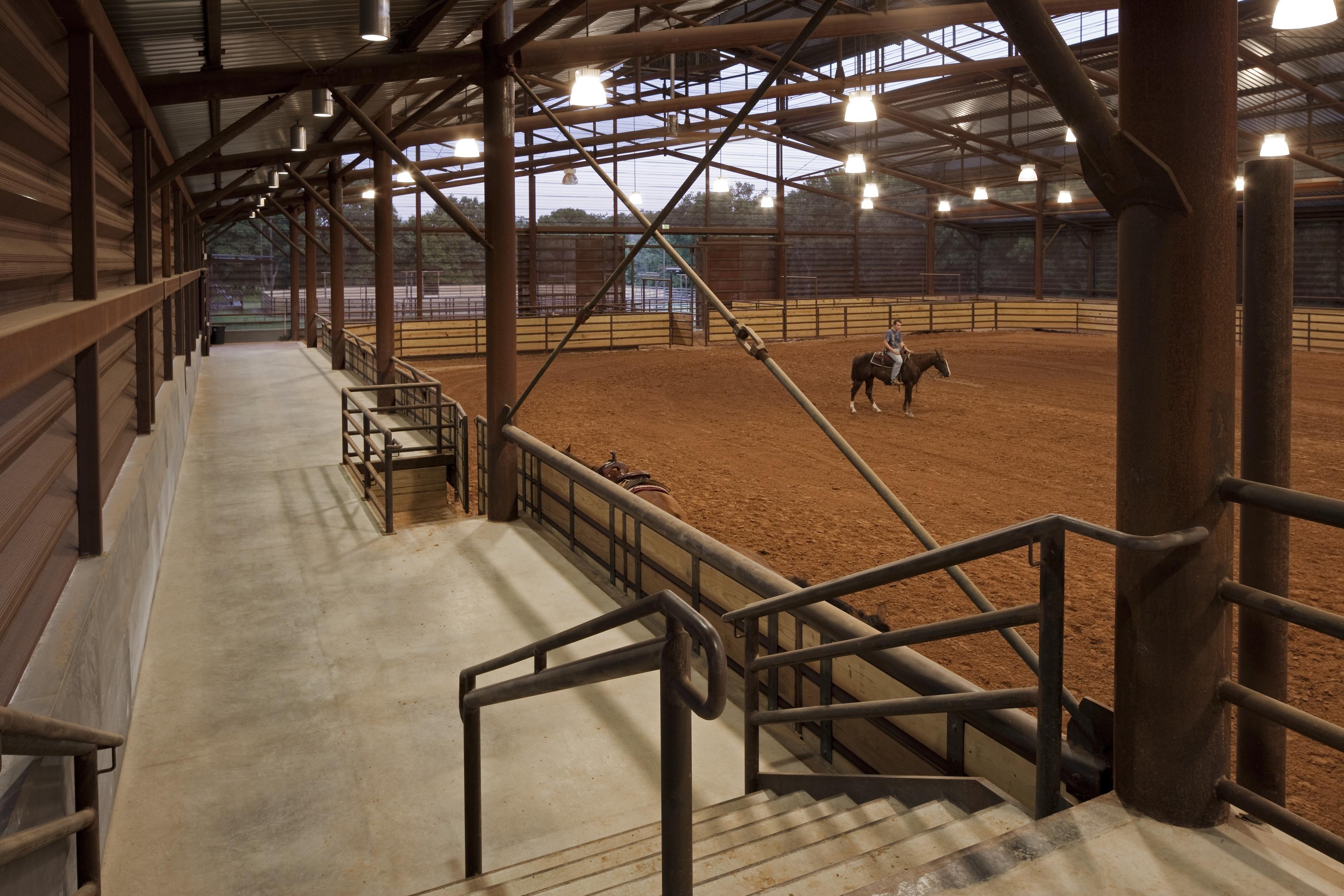 Cutting Horse Ranch Lake Flato
