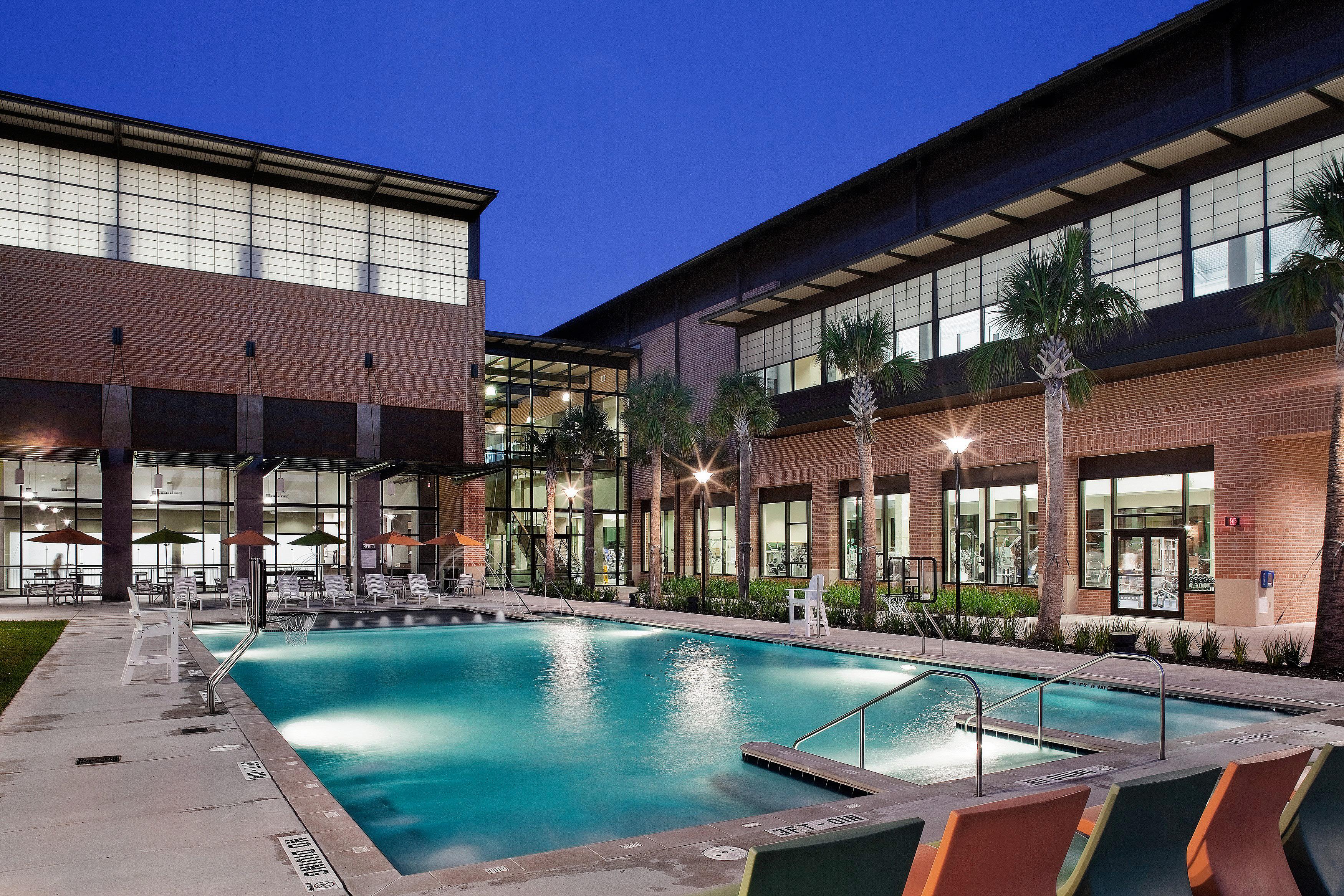 Rice University Gibbs Recreation Center  Lake Flato