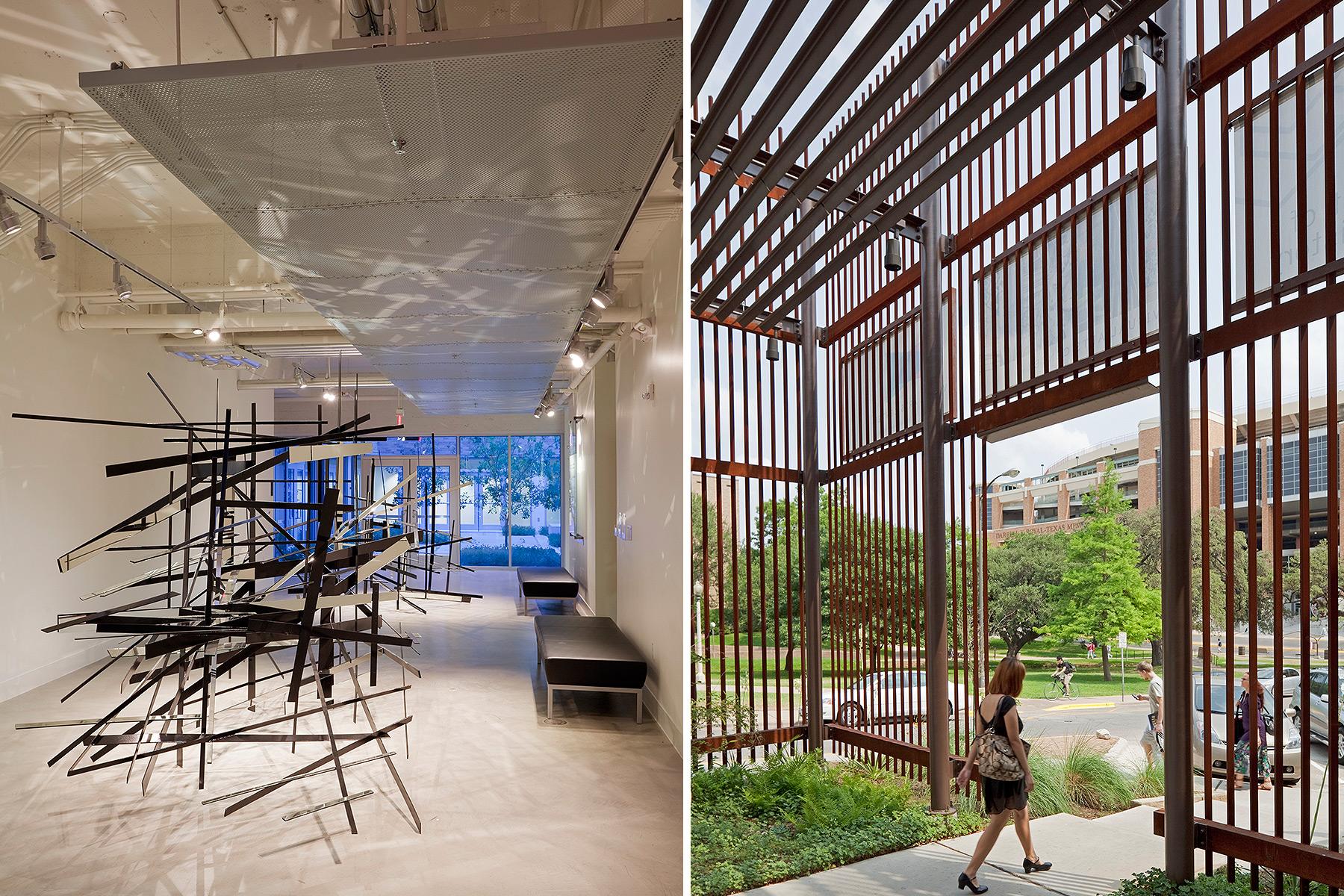 UT Austin Visual Arts Center  Lake Flato