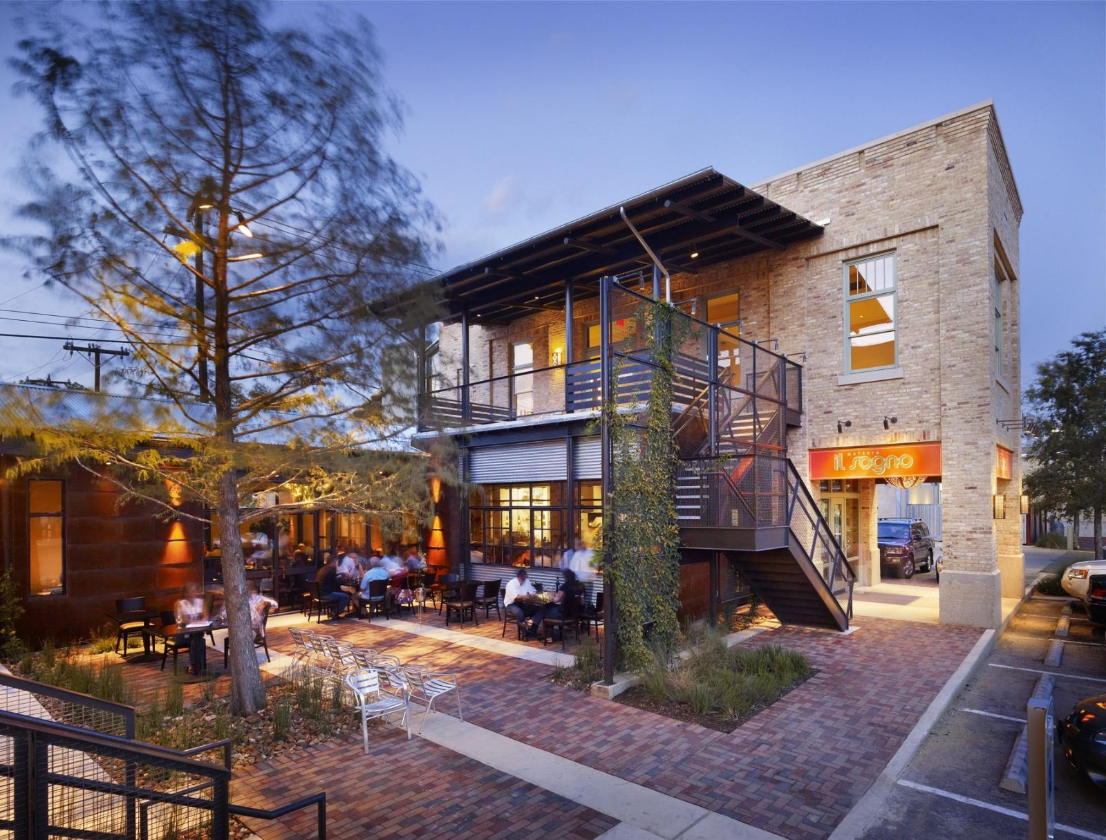 Il Sogno Restaurant  Lake Flato
