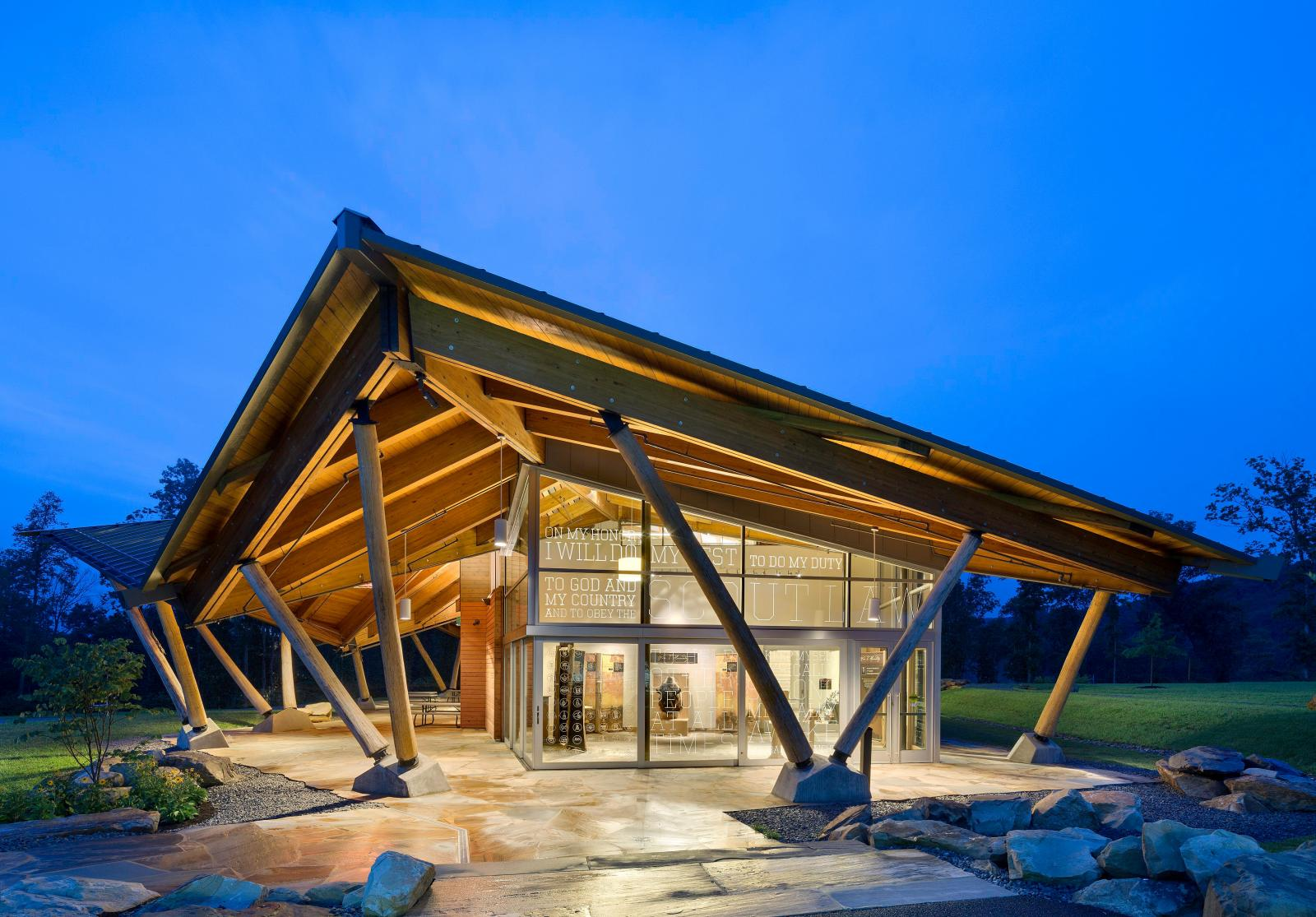 Scott Visitor Center Lake Flato