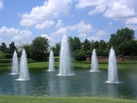 Cascade Fountains Lake Fountain & Aeration Company