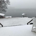 Lake Gaston Snow….