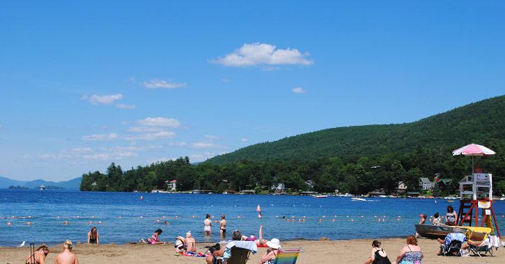 Beaches In Around Lake George Ny