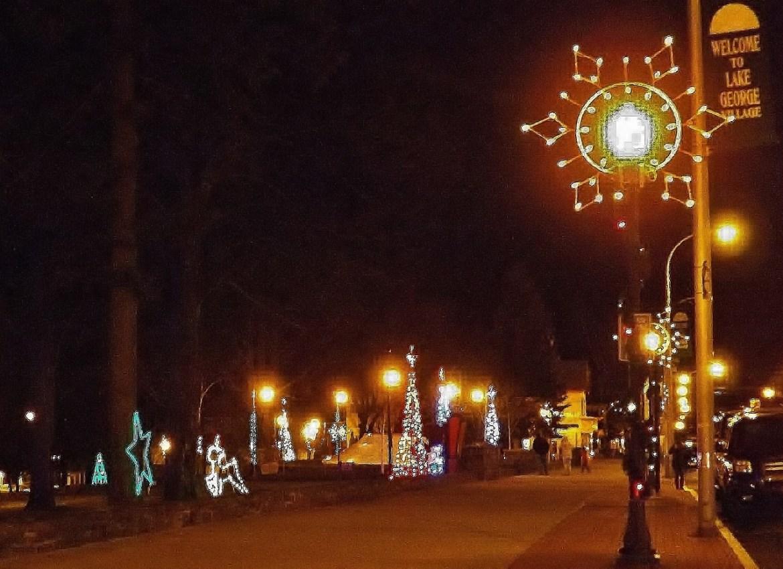 lake george christmas lights