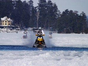 4x4 ice drag races featured at Lake George Winter Carnival this