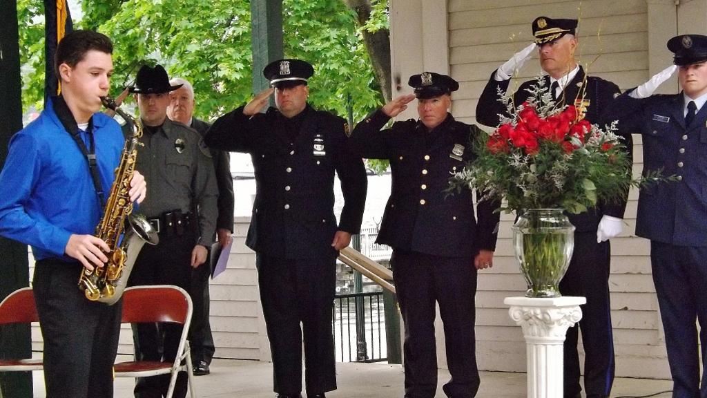 memorial service law enforcement officers weekend
