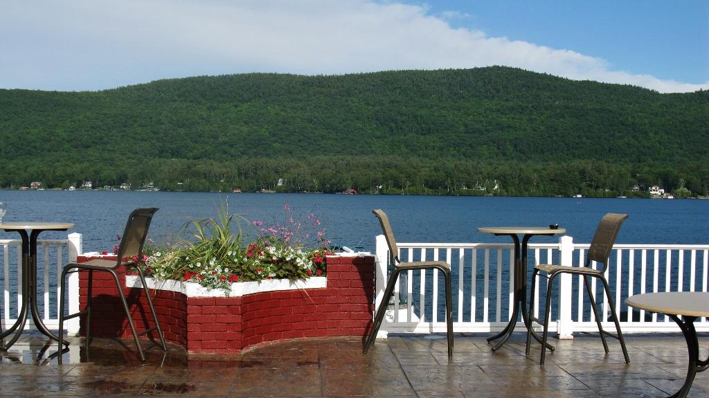 Lake George Restaurant week the georgian