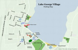 lake george village parking map