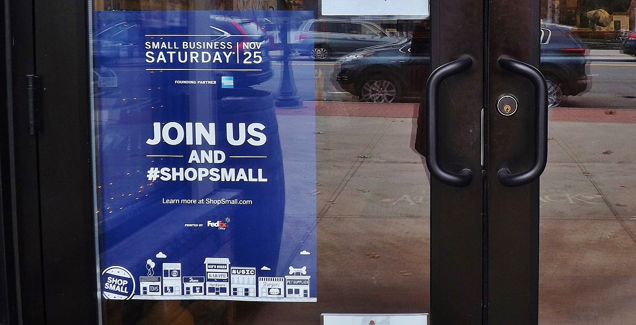 Shop small on Saturday