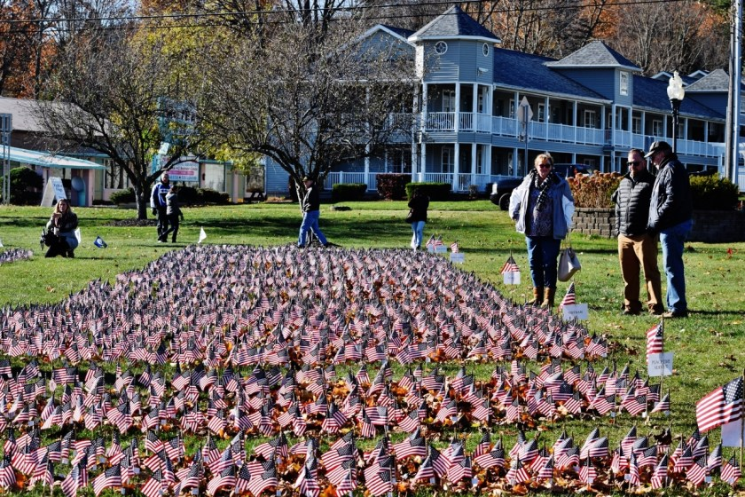 Fort William Henry's Field of Flags