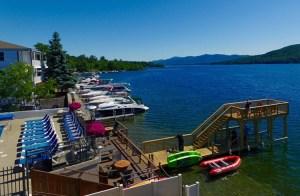 Lake Motel Dock and Shoreline