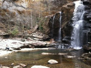 High Falls Box Canyon Below Lake Glenville, NC