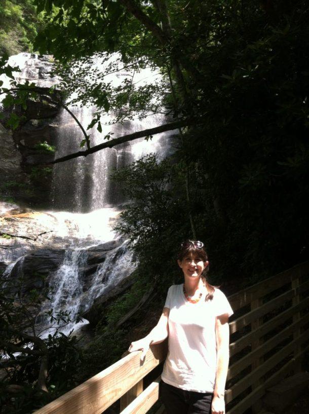 Katie at Glen Falls