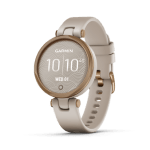 Rose Gold Bezel with Light Sand Case and Silicone Band