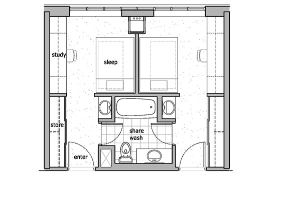 Student Accommodation: Student Accommodation Floor Plans