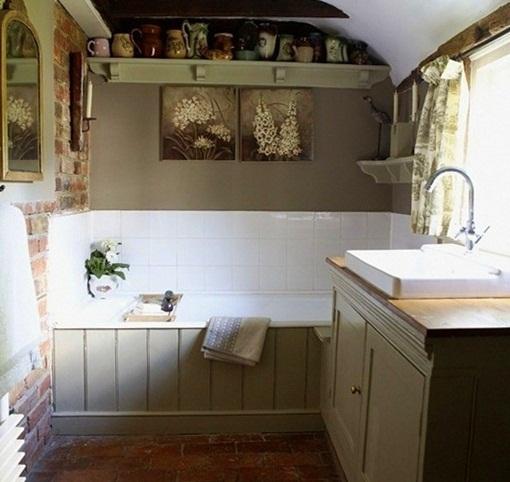 Home Design Ideas: French Country Bathroom Decor