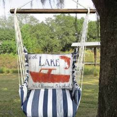 Swing Chair Pier One Professional Gaming Chairs Lake