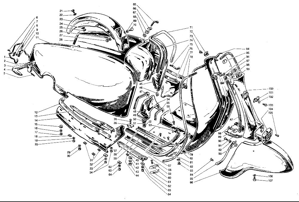 For Lambretta Tv 175 Wiring Diagram. For. Wiring Diaram