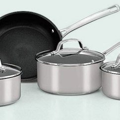 Kitchen Pots And Pans Workstation Cookware Read More Pan Set