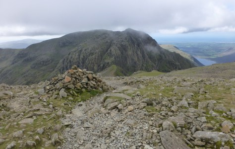 Broad Stand from Scafell Pike