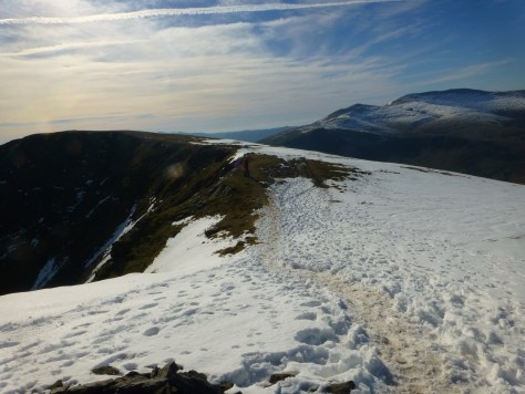 Toward Blease Fell, Blencathra