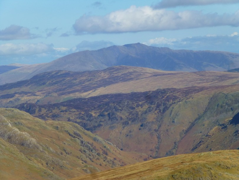 Blencathra across Langstrath