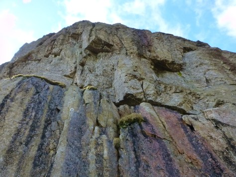 Rock Face - Flat Crags