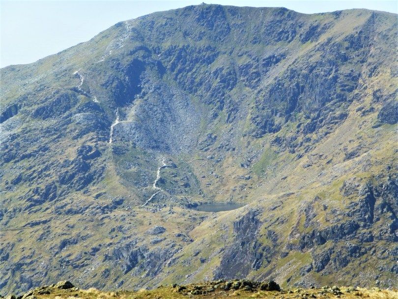 Old Man of Coniston from Wetherlam