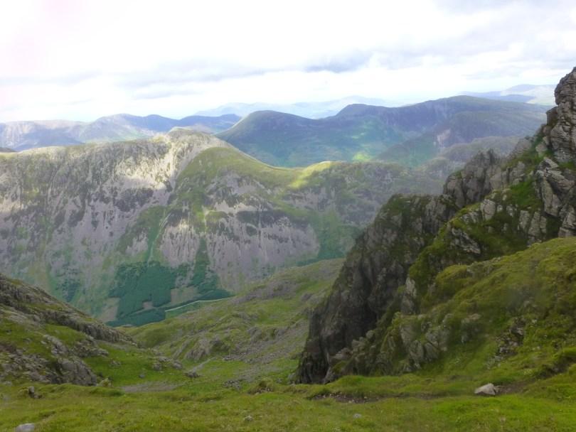 High Crag, Robinson and Hindscarth from Pillar