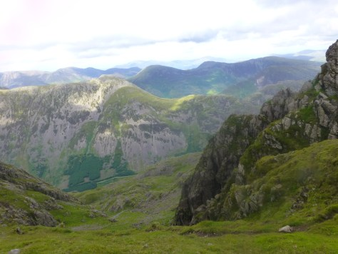 High Crag, Robinson and Hindscarth from Pillar