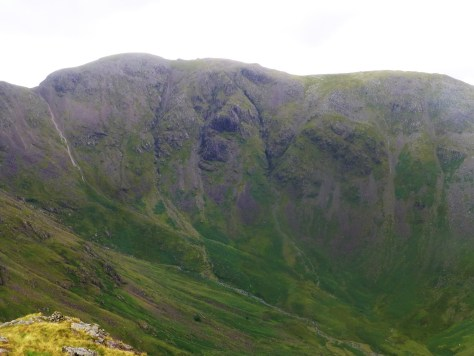 Pillar rising above Mosedale