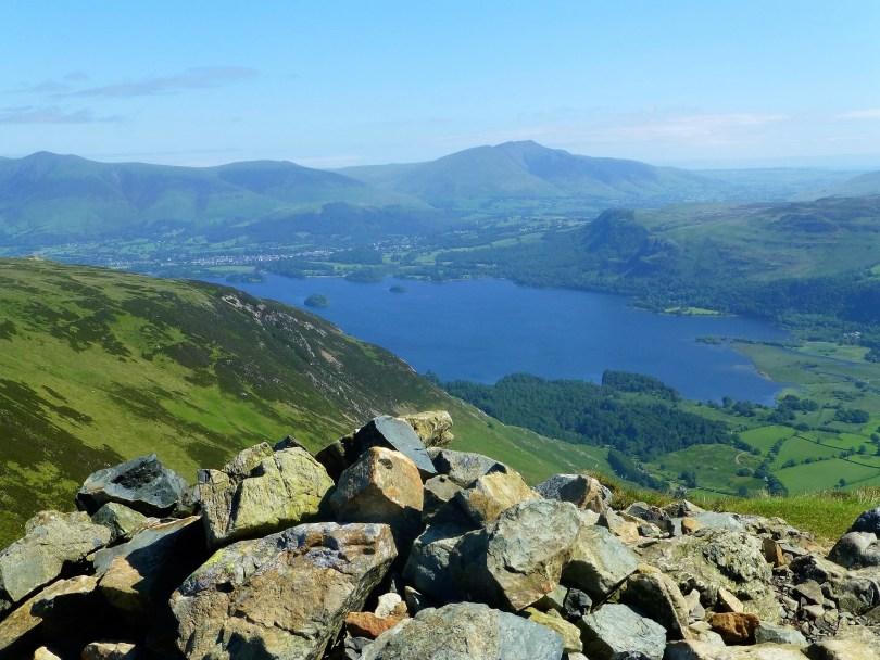 Derwent Water from High Spy North Top