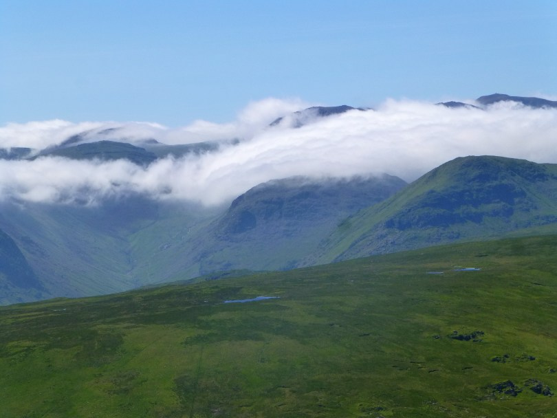 Cloud Inversion over the Western Fells