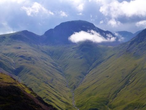 Great Gable at the head of Ennerdale