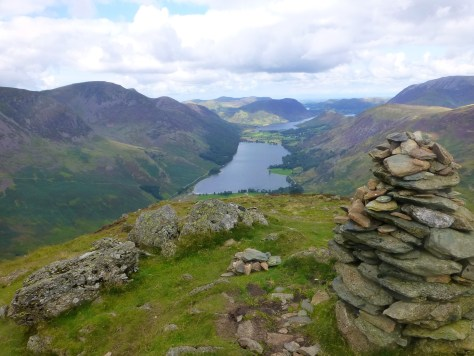 Buttermere from Fleetwith summit
