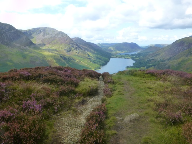 Buttermere from Fleetwith Edge