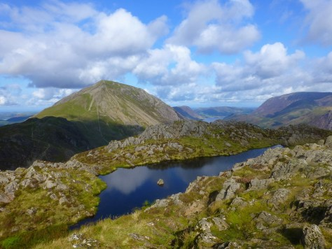 High Stile over summit cairn, Haystacks