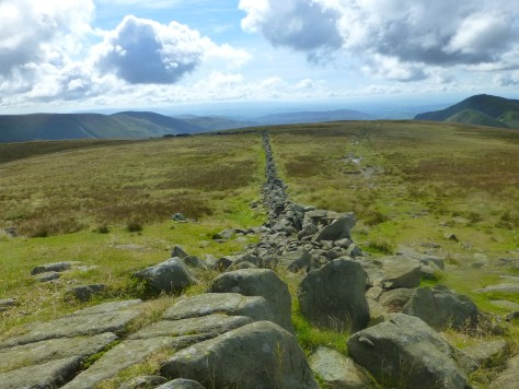 Tumble down wall, Thornthwaite Crag