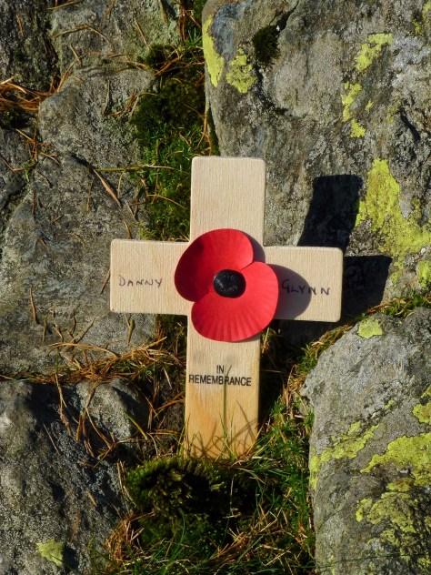 Castle Crag war memorial