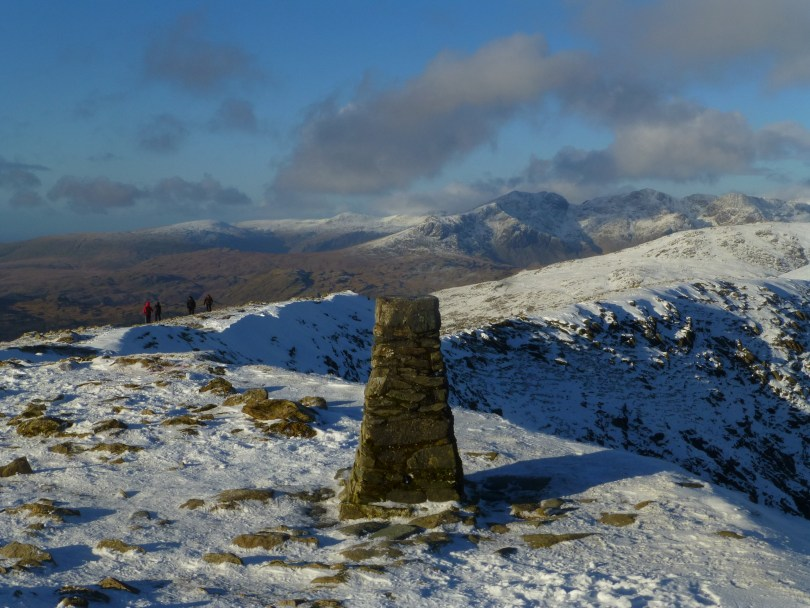 Old Man of Coniston Trig Point