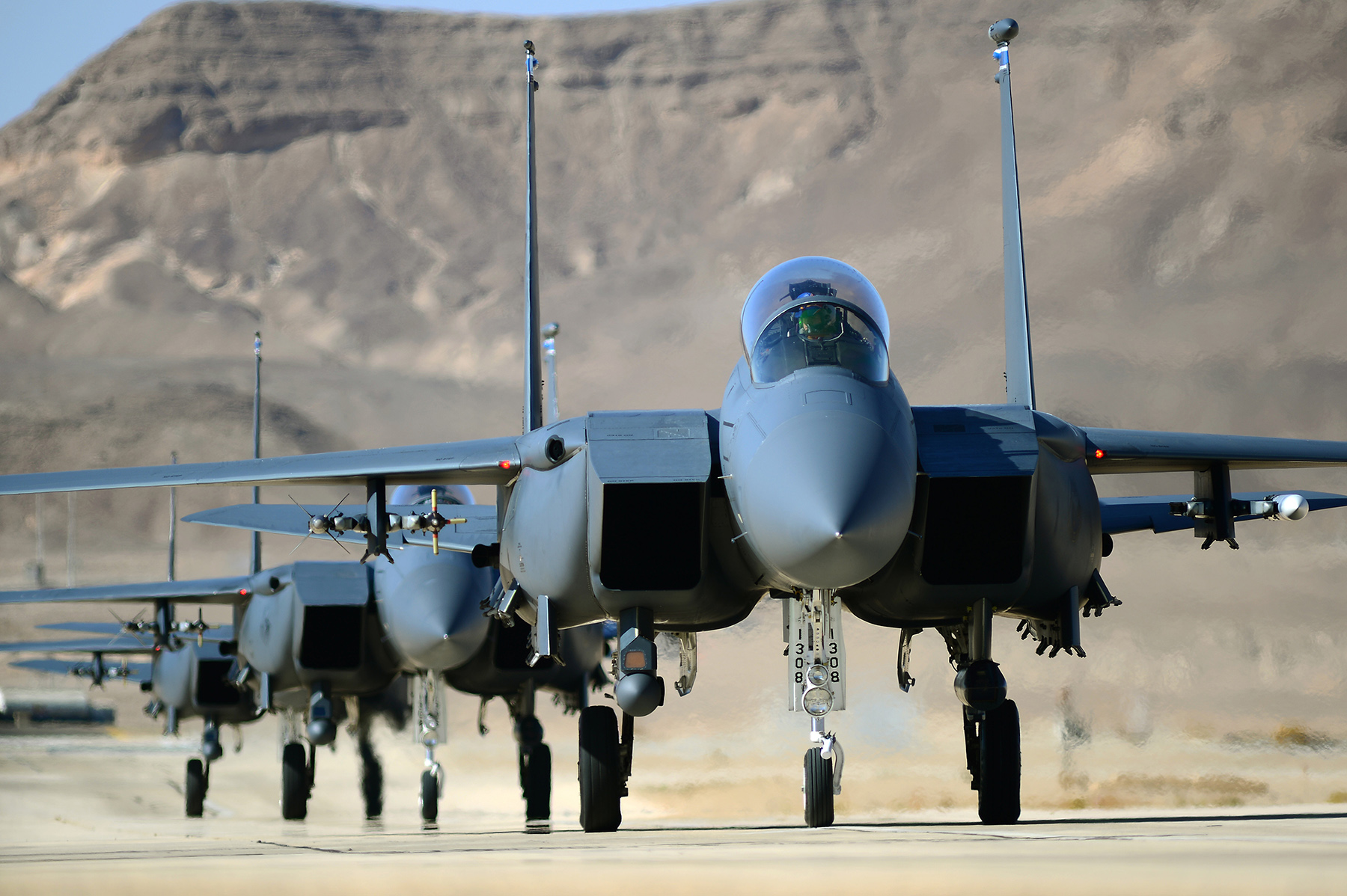( F-15E aircrafts via Lakenheath.af.mil )