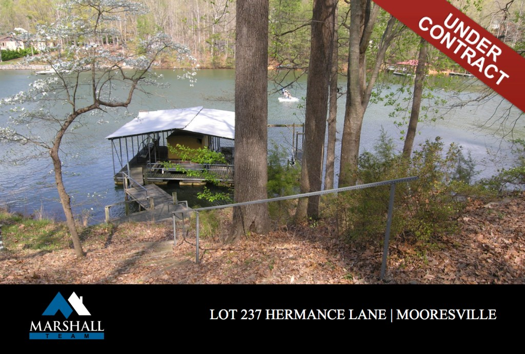 Waterfront Lot in Mooresville