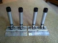 "SOLD ***** (2) 12"" Tracks and (4) Berts Rod Holders ..."