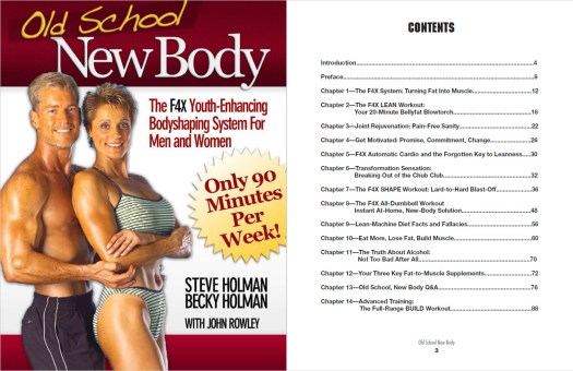 Old School New Body Table of Contents