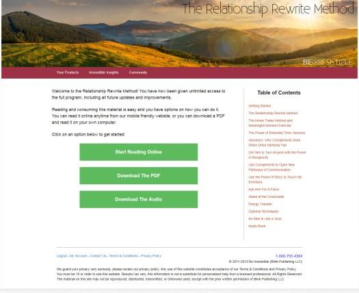 Relationship Rewrite Method Download Page