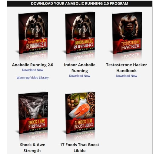 Anabolic Running Download Page