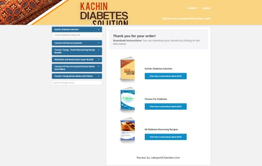 Kachin Diabetes Solution Download Page