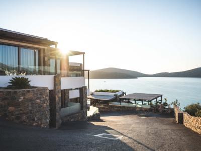 Property by a lake